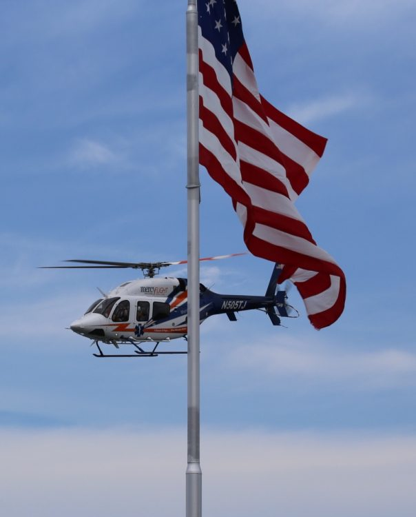MercyFlight Helicopter