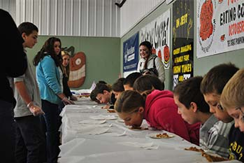 Childrens Pie Eating Contest