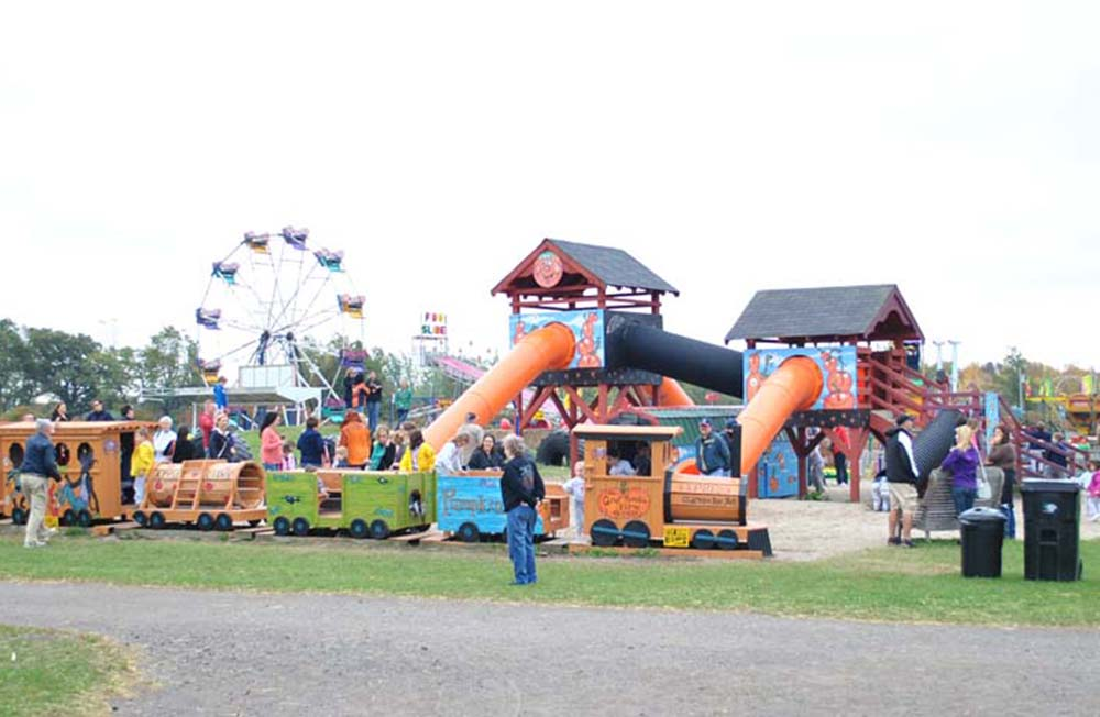 great pumpkin farm playground