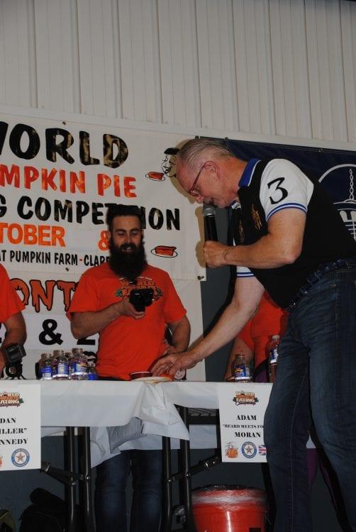 World Pumpkin Pie Eating
