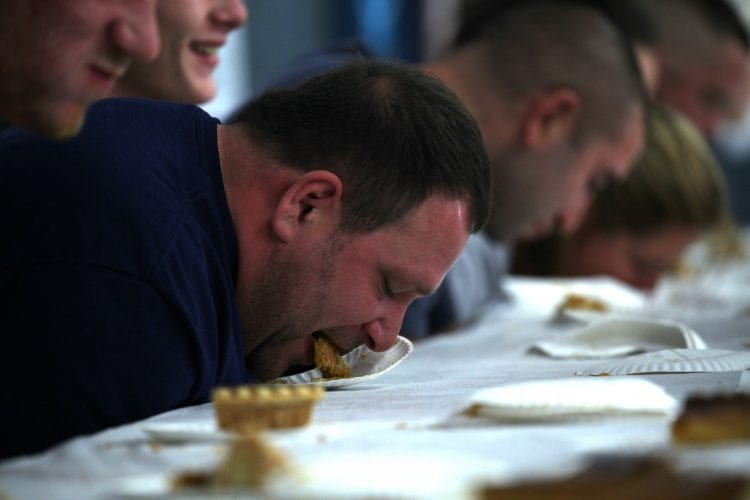 Watch Professional Eaters Attempt A New World Record This Weekend at the Great Pumpkin Farm!