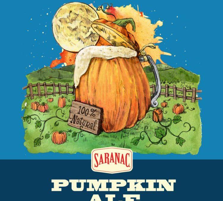Saranac Pumpkin Ale Logo