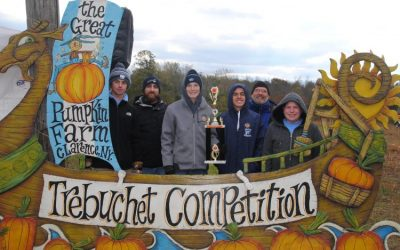 Depew High School took home this year's two top honors in the Trebuchet Contest