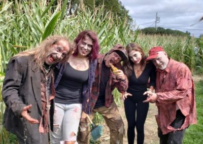 Great Pumpkin Farm Zombies in the Corn Maze